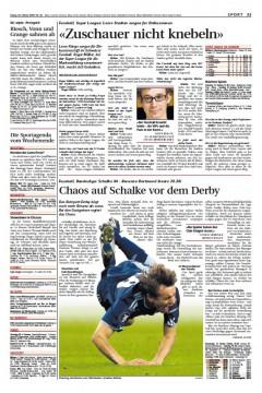 NLZ 2009-02-20 Schalke_vorschau
