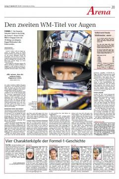 NLZ 2011-09-25 Vettel_vorschau