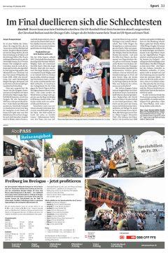 NLZ 2016-10-27 Baseball_vorschau